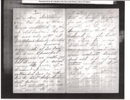 "Letter to ""friend"" from KCB dated October 16th 1894 from Paris 3"