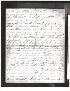 "Letter to ""friend"" from KCB dated October 16th 1894 from Paris 4"