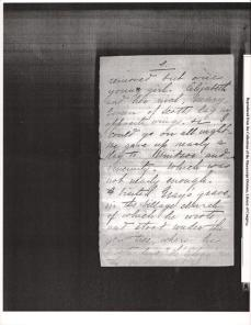 "Letter to ""friend"" from KCB dated October 16th 1894 from Paris 5"