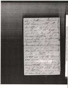 "Letter to ""friend"" from KCB dated October 16th 1894 from Paris 6"