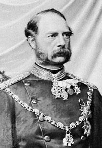 Christian IX of Denmark in military uniform